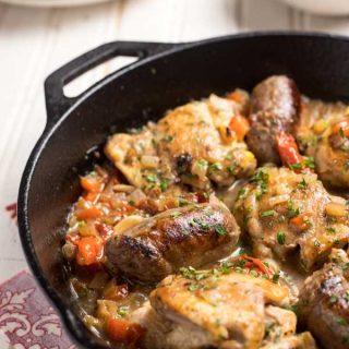 One Pan Chicken Scarpariello